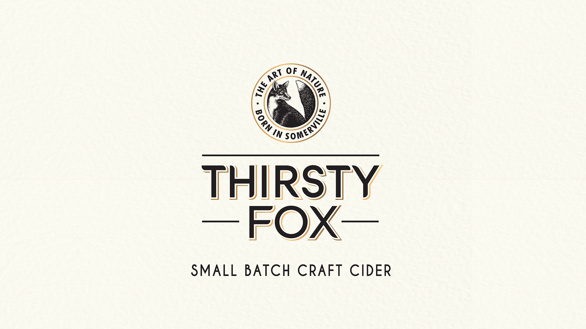 Thirty Fox label design